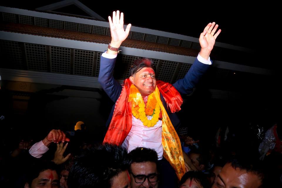 Bhaban Bhatta elected as NRNA President